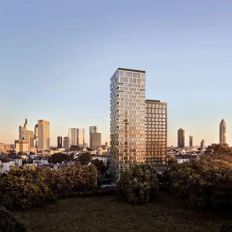 160 Park View / HaP Hochhaus am Park: Turm A & Turm B, Frankfurt 3