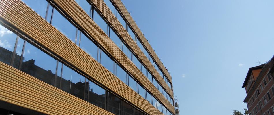Fenster- bzw. Portalkonstruktion