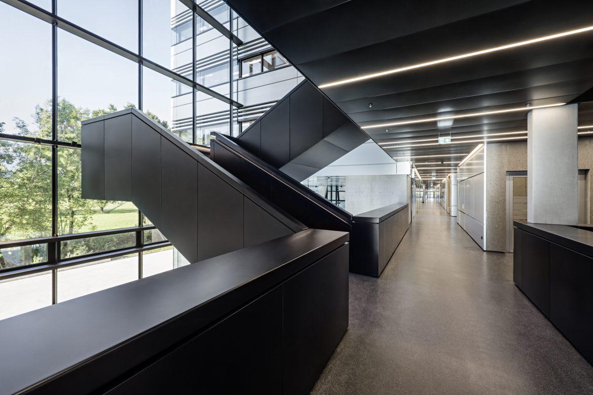 Doppelmayr BüroHoheBrücke Panoramatreppe