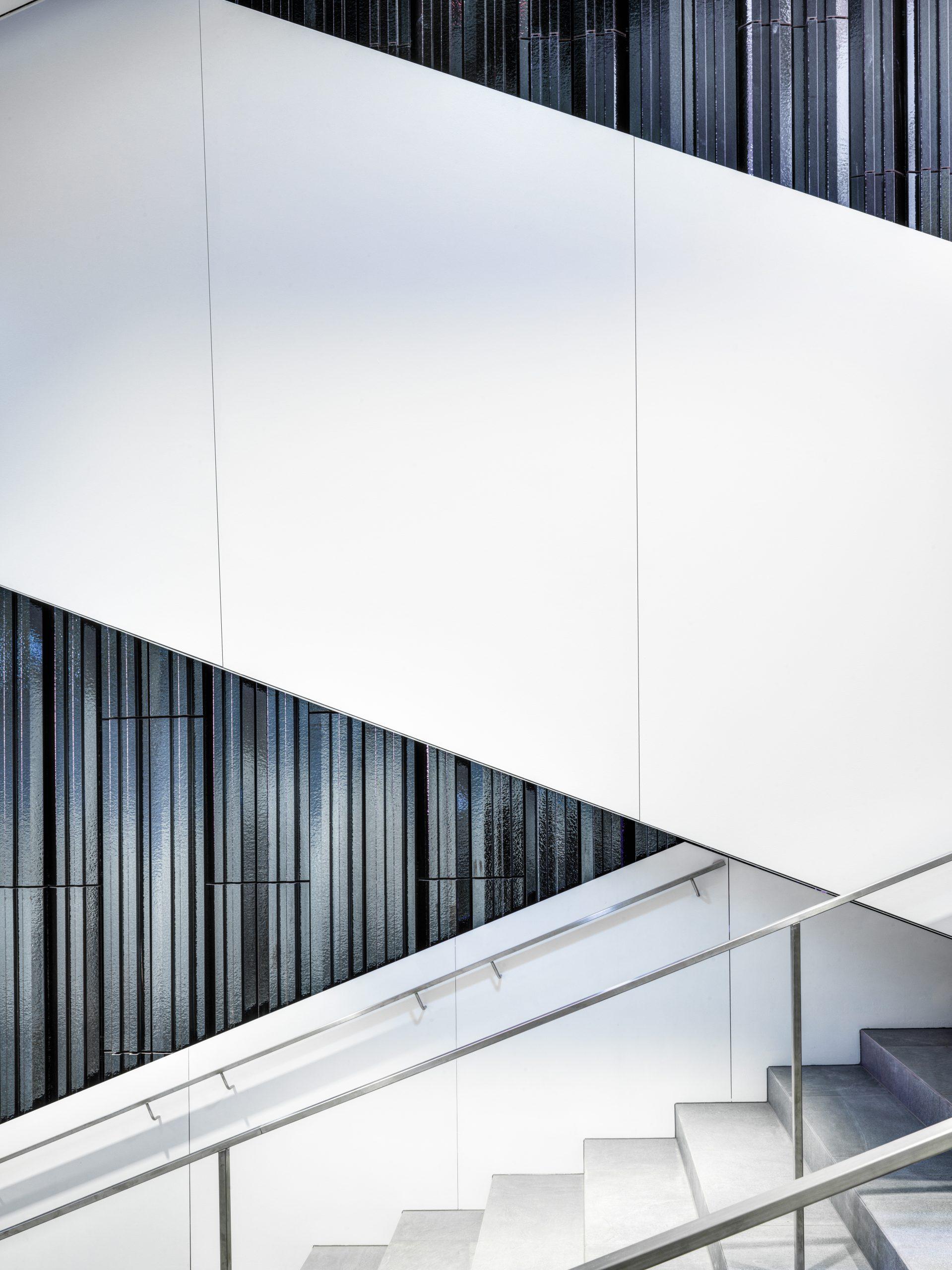 Haus der Musik Innsbruck Treppenaufgang