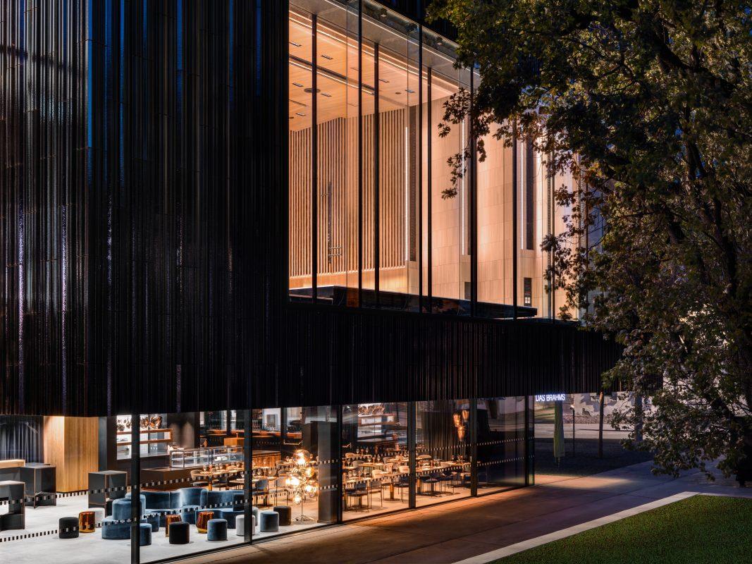 Haus der Musik Innsbruck Seitenansicht