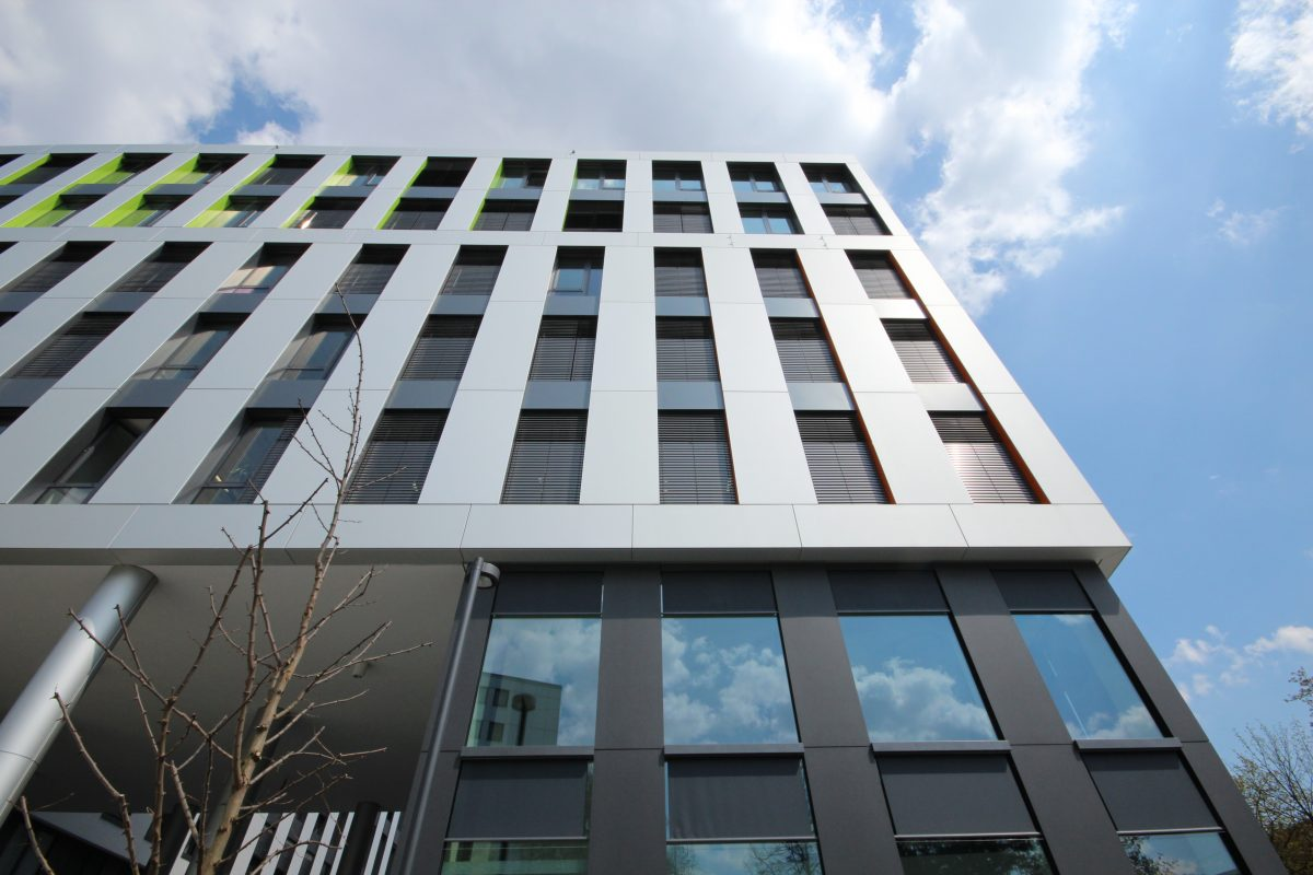 Smarthouse München Fassadenansicht