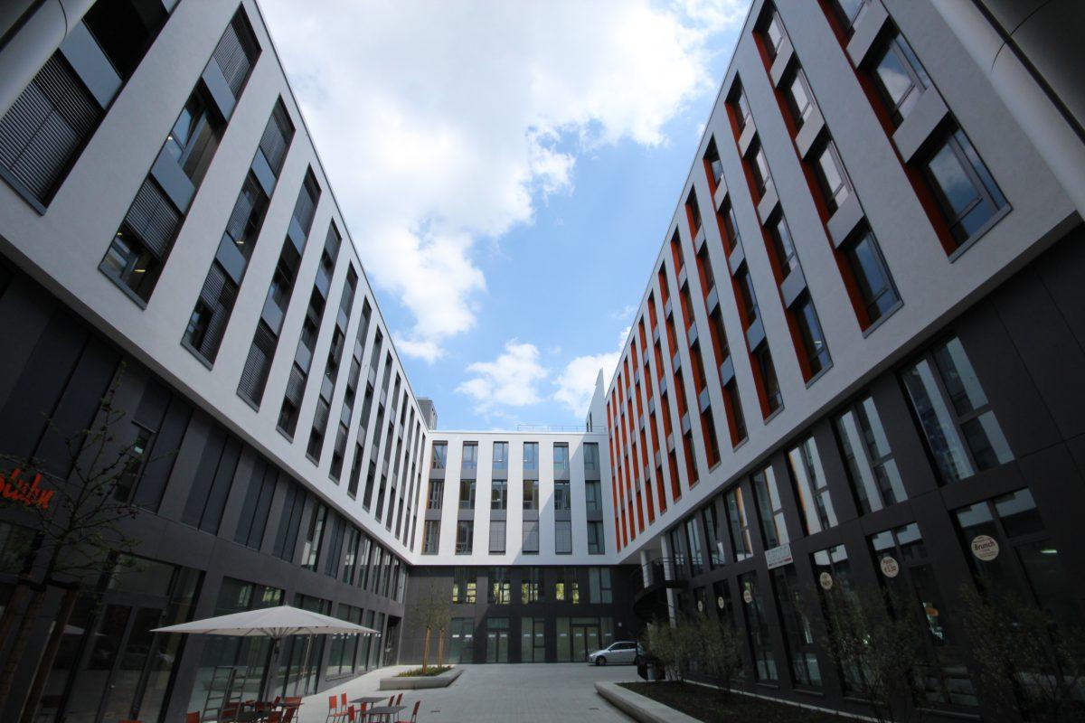Smarthouse München Innenhof