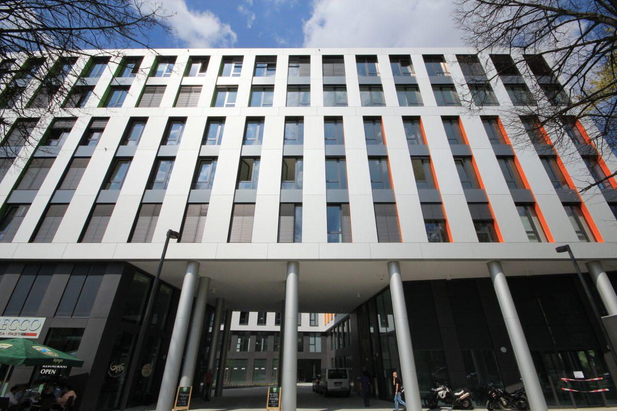 Smarthouse München Fassade Eingang