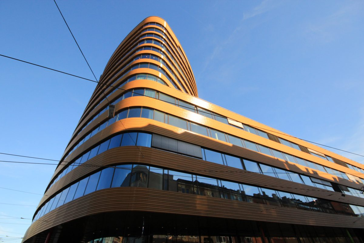 Pema-II-Turm, Innsbruck Gesamtansicht Ecke