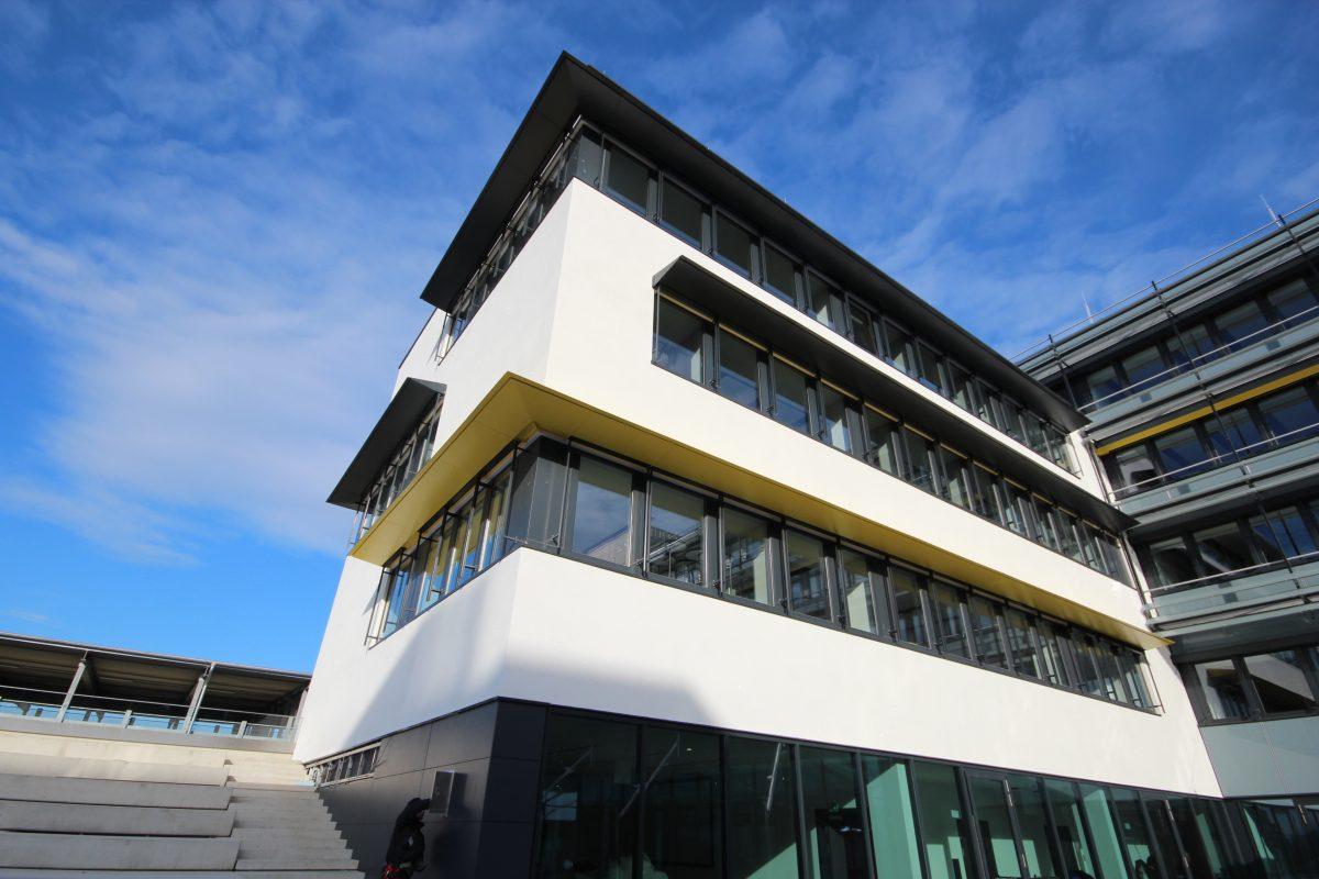 Raiffeisen Rechenzentrum Raaba Fassade Innenhof