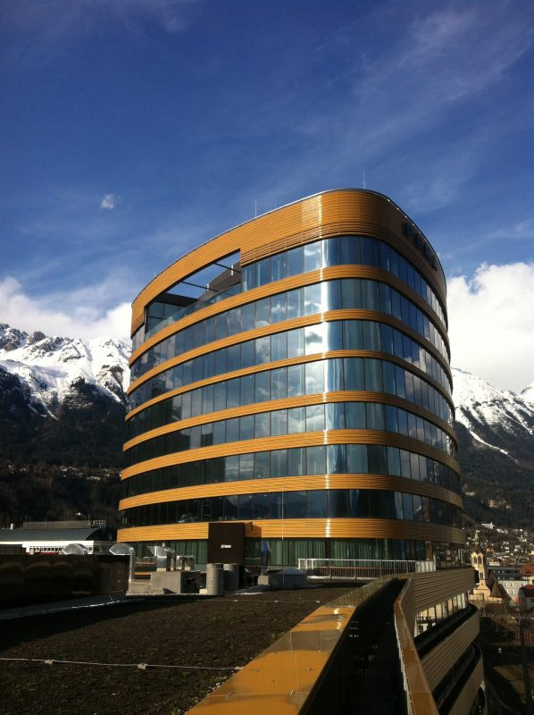 Headline, Innsbruck Ansicht Turm oben