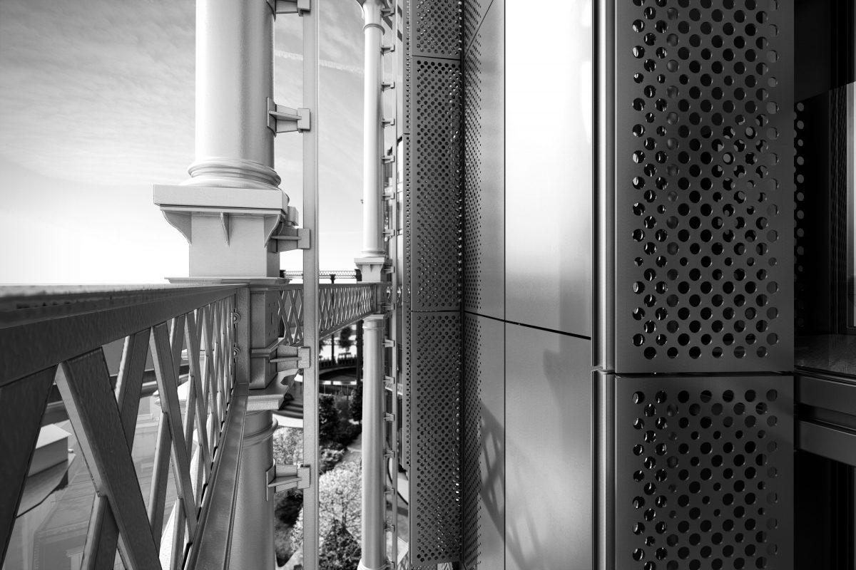 King's Cross Gasholder Detail