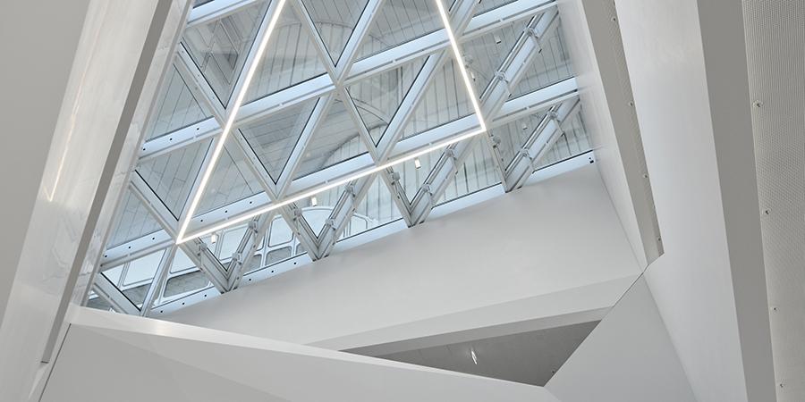 HVB Tower Glaskonstruktion weitere Ansicht