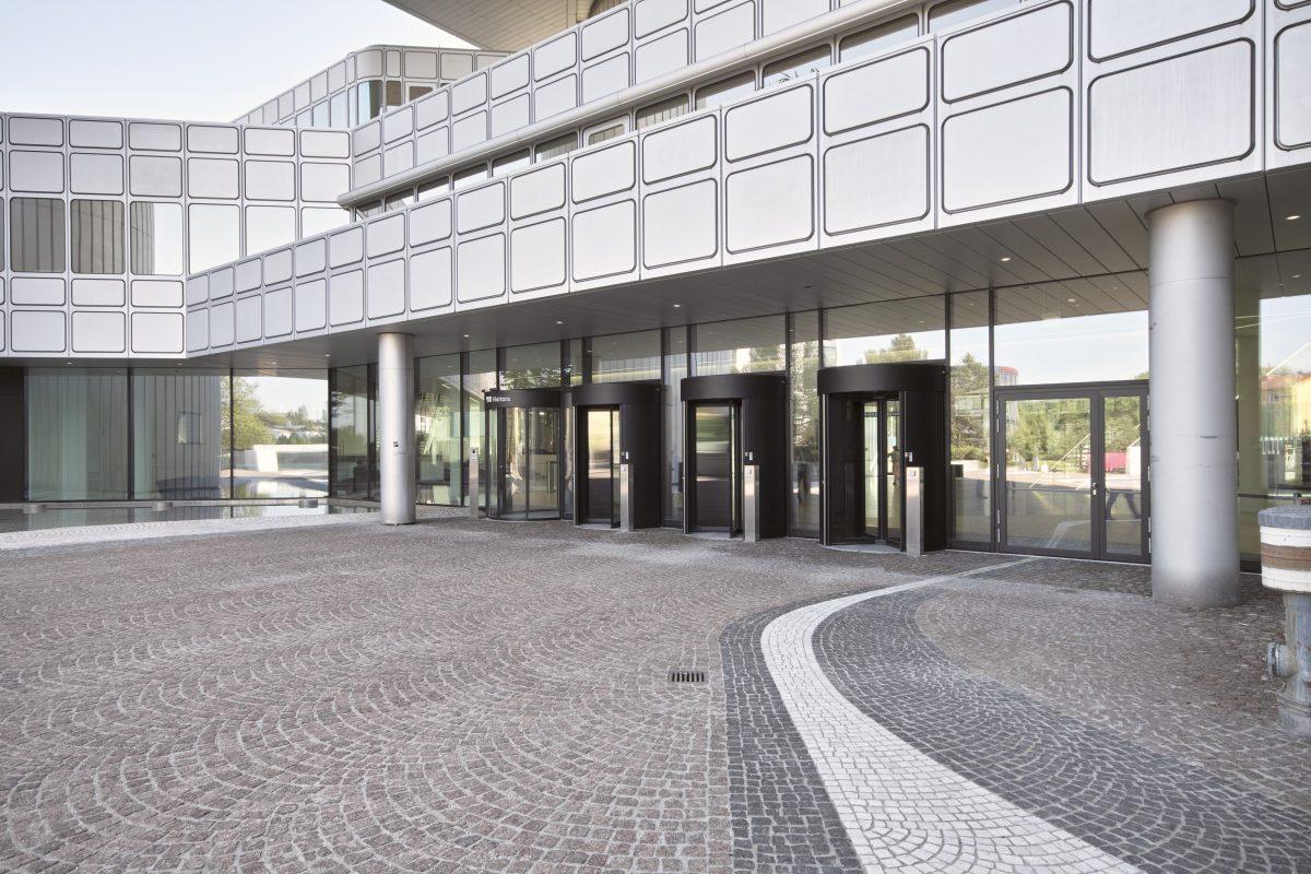 HVB Tower Eingangsbereich