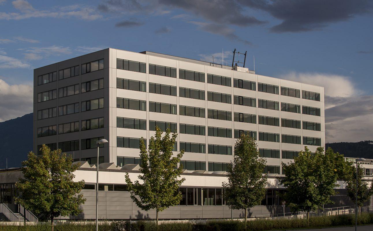 Universität Innsbruck gesamtes Gebäude