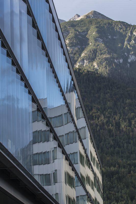 Universität innsbruck Fakultät für Architektur Sonnenschutzprallscheiben