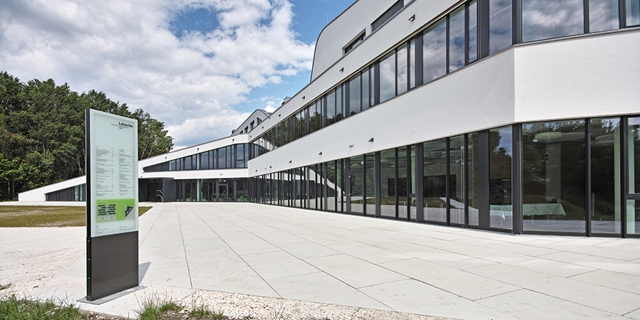 Lakeside Science & Technology Park, Klagenfurt Fassade