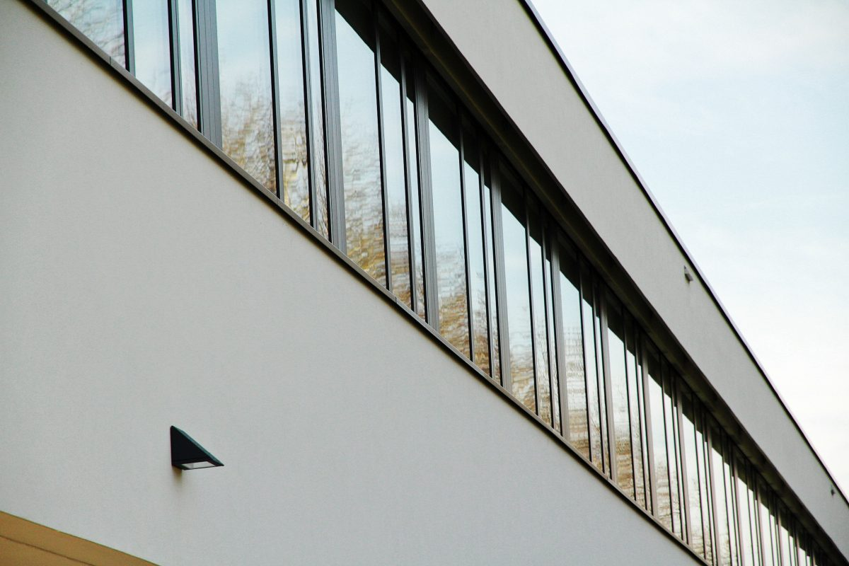 Lakeside Science & Technology Park, Klagenfurt Fensterband