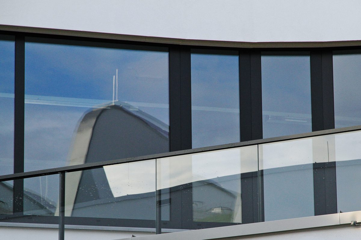 Lakeside Science & Technology Park, Klagenfurt Fenster Detail