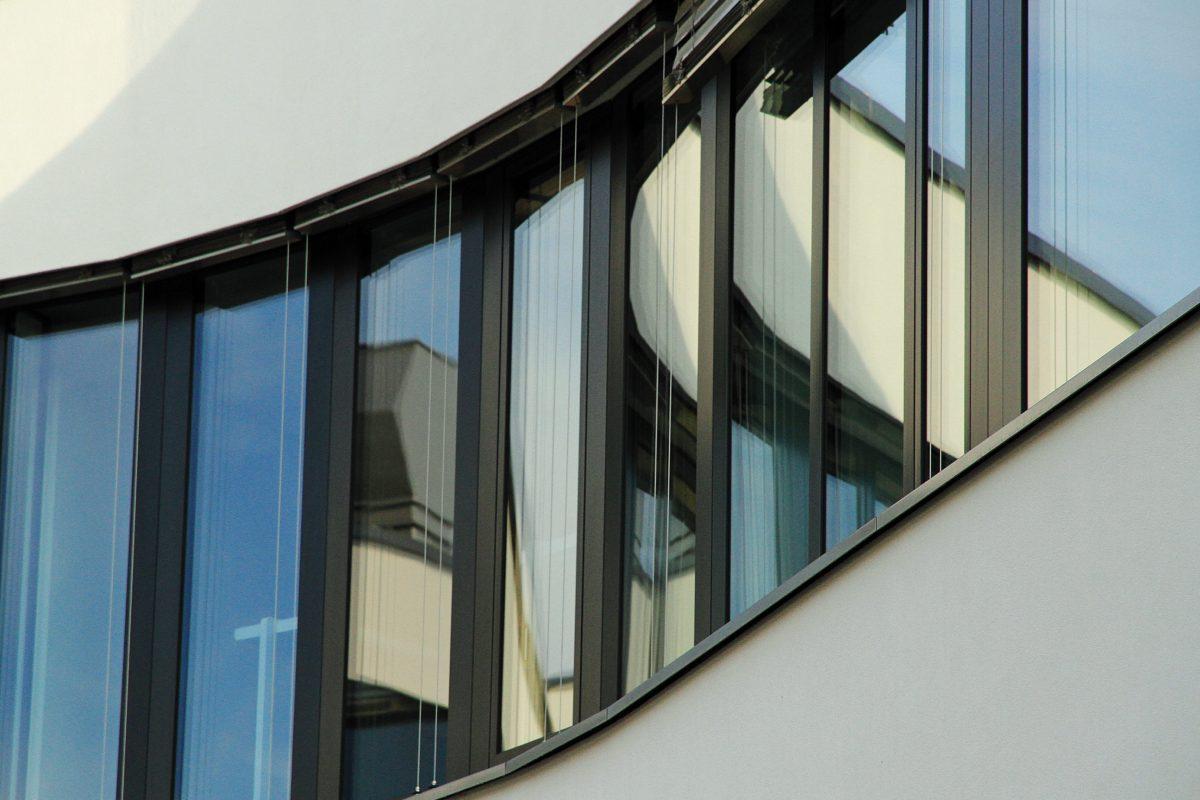 Lakeside Science & Technology Park, Klagenfurt Fenster Bogen