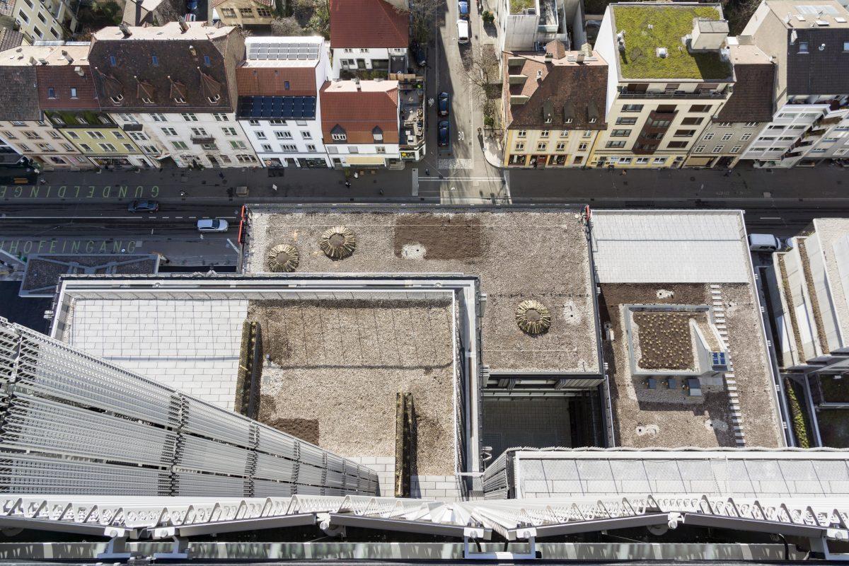 MOH Basel Shutter Detail von oben