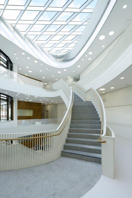 Stiegenaufgang Klinikum rechts der Isar München, TranslaTUM