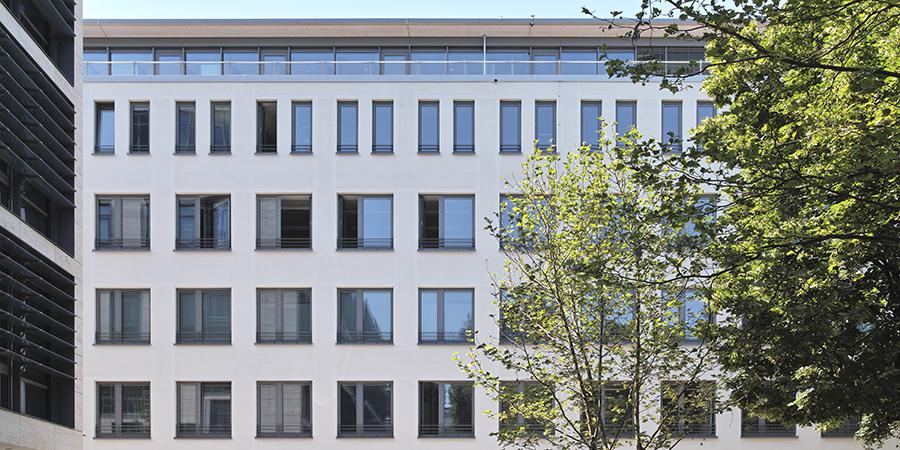 Briennerstraße 14, München Fassadenansicht