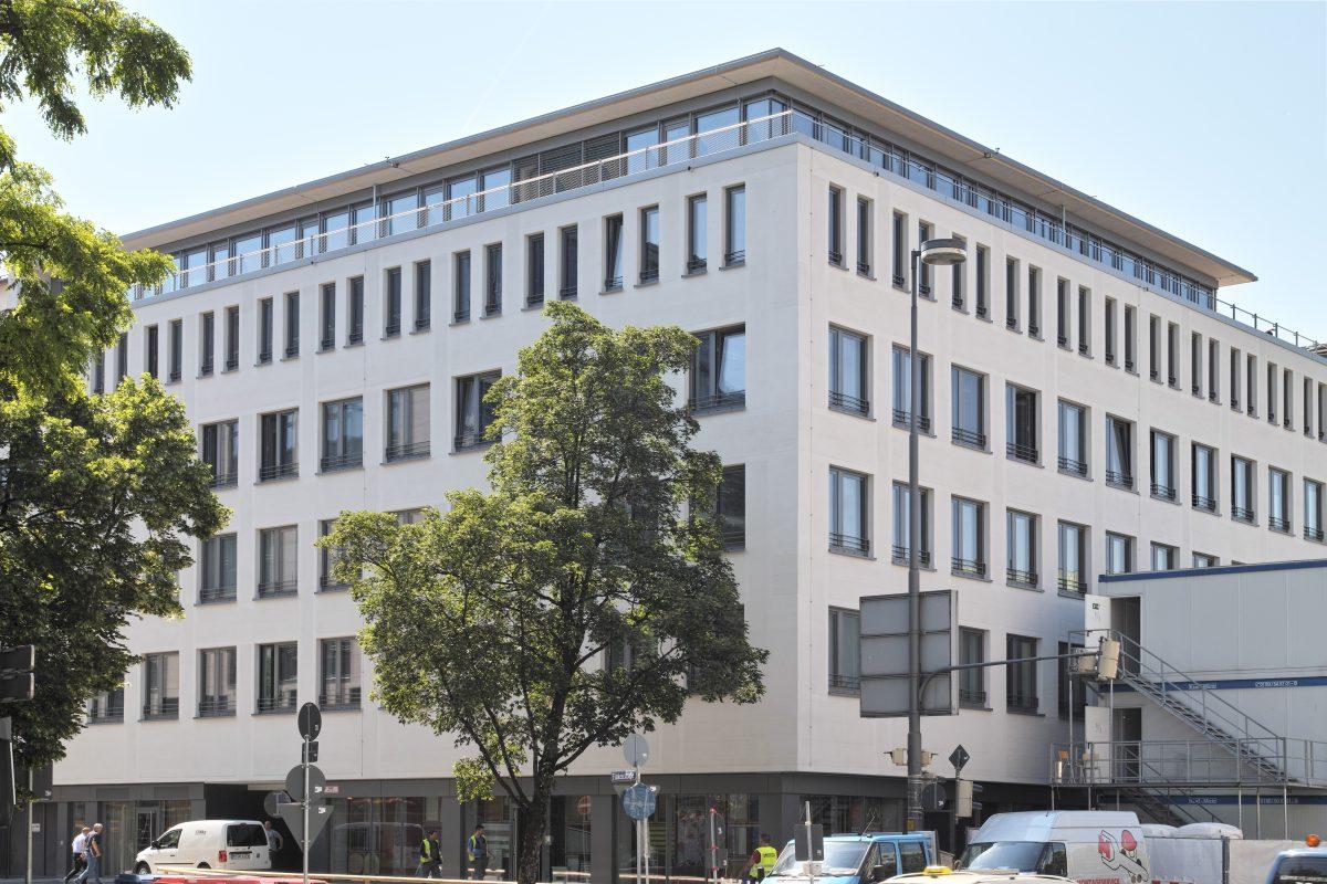 Briennerstraße 14, München Ansicht Ecke