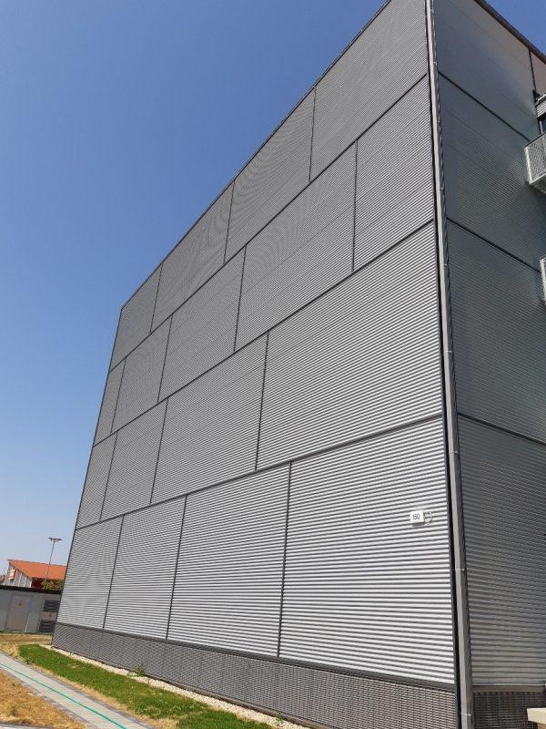 LUNOS Lüftungstechnik GmbH, Berlin Fassade geschlossen