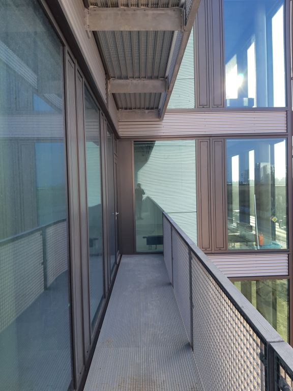 LUNOS Lüftungstechnik GmbH, Berlin Balkon