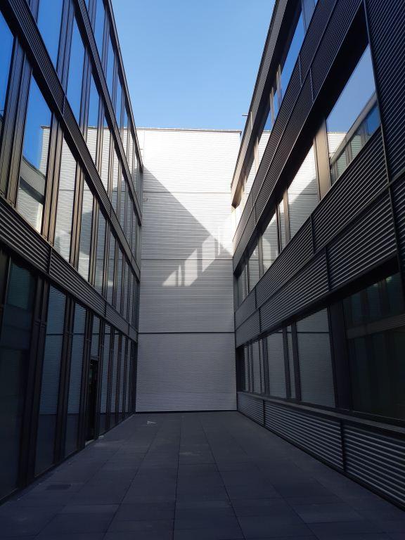 LUNOS Lüftungstechnik GmbH, Berlin Innenhof Wand