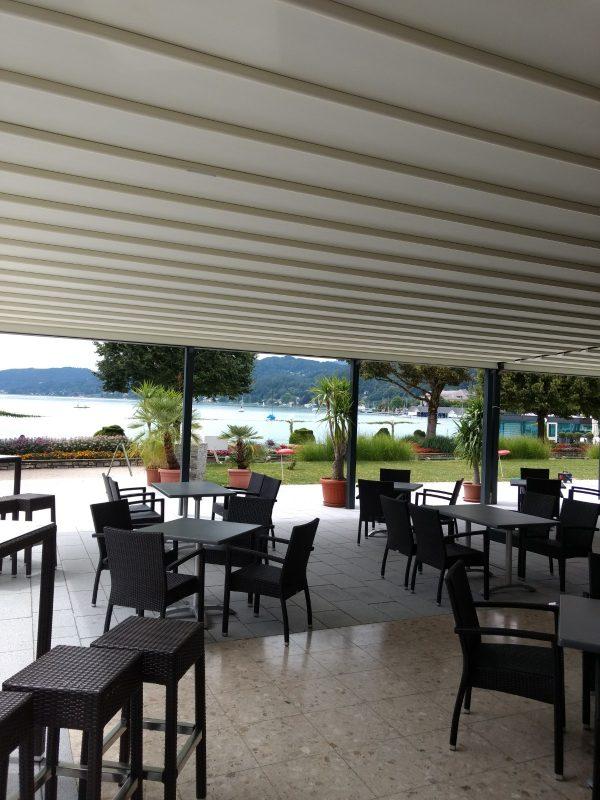 Parkhotel, Pörtschach Terrassenansicht zum See