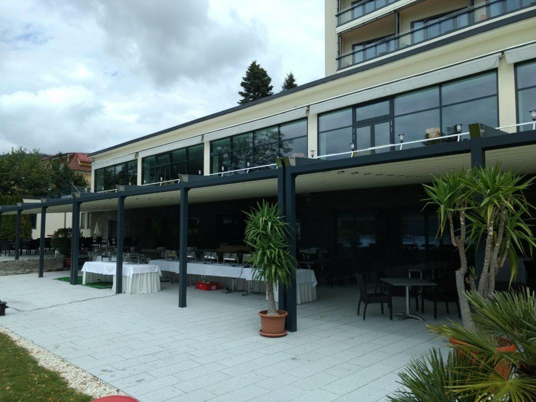 Parkhotel, Pörtschach Dachlösung Terrasse