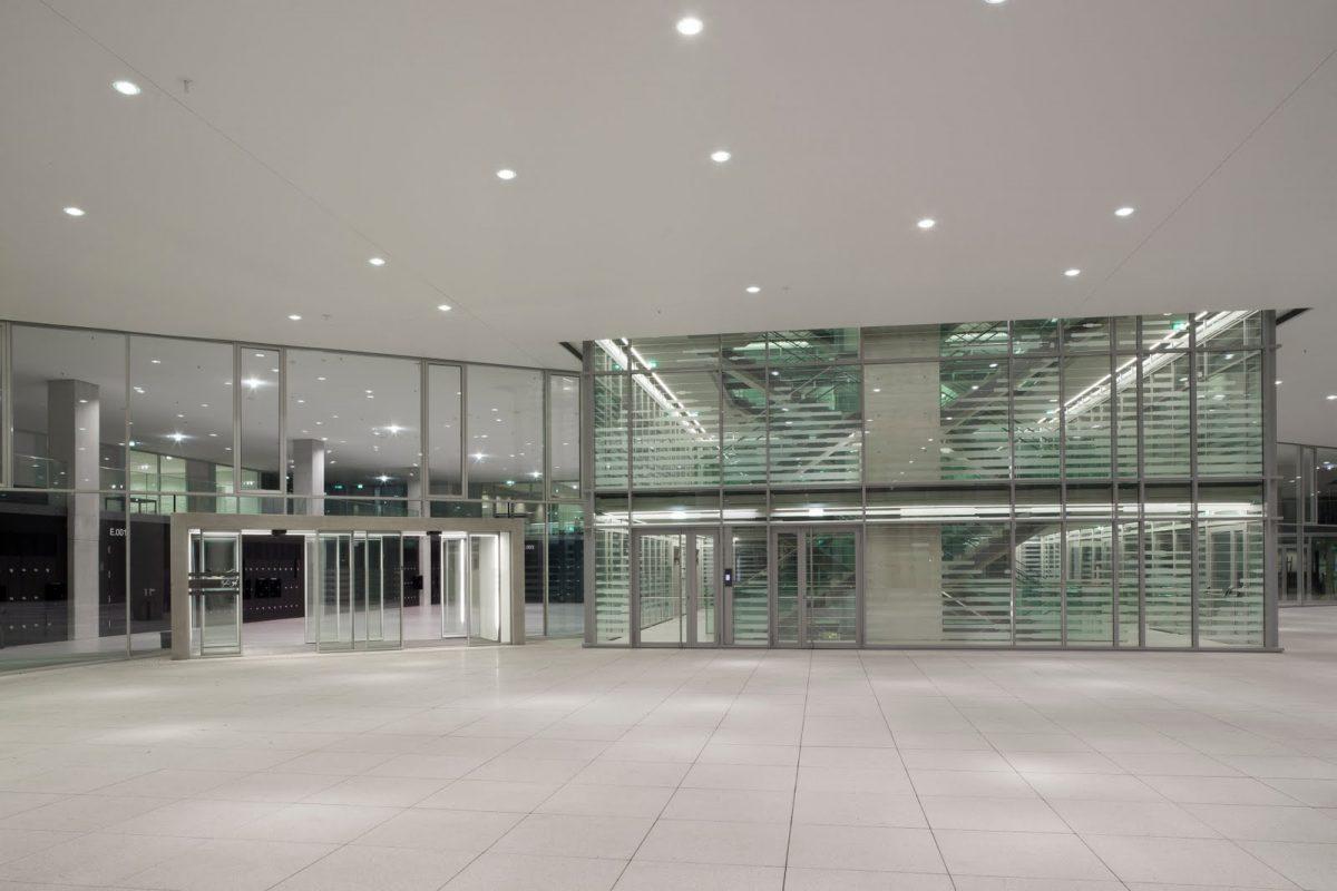 Universität Salzburg: Fakultät für Kultur- und Gesellschaftswissenschaften Stiegenhaus innen