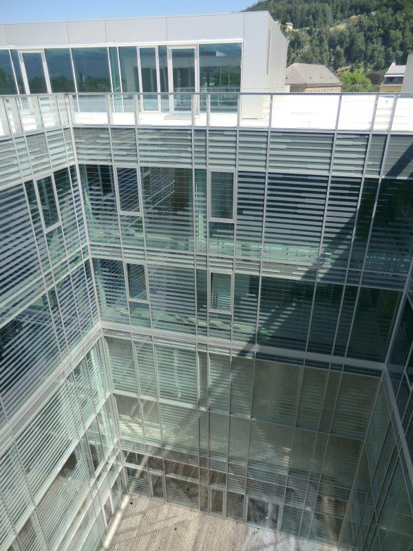 Universität Salzburg: Fakultät für Kultur- und Gesellschaftswissenschaften Innenhof