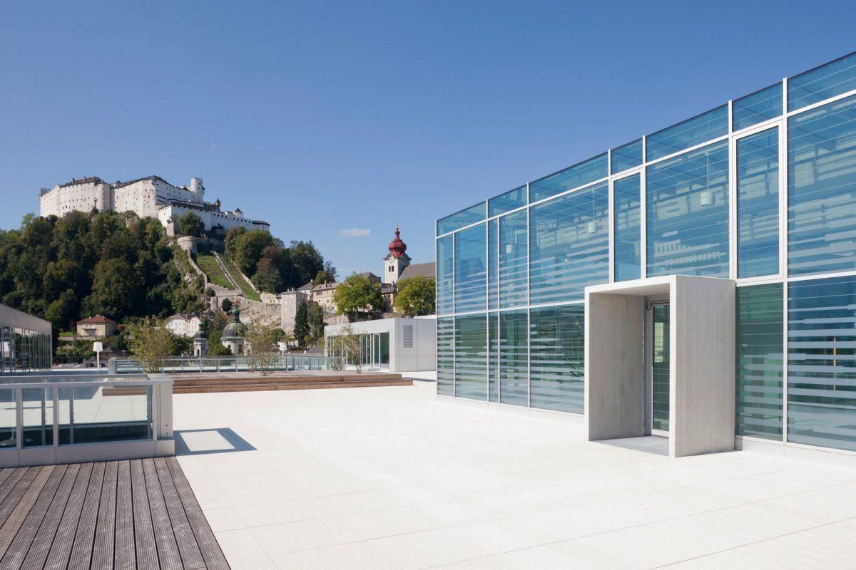 Universität Salzburg: Fakultät für Kultur- und Gesellschaftswissenschaften Ansicht Eingang