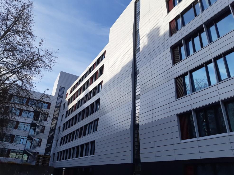 Axa Denisstraße Innenhof